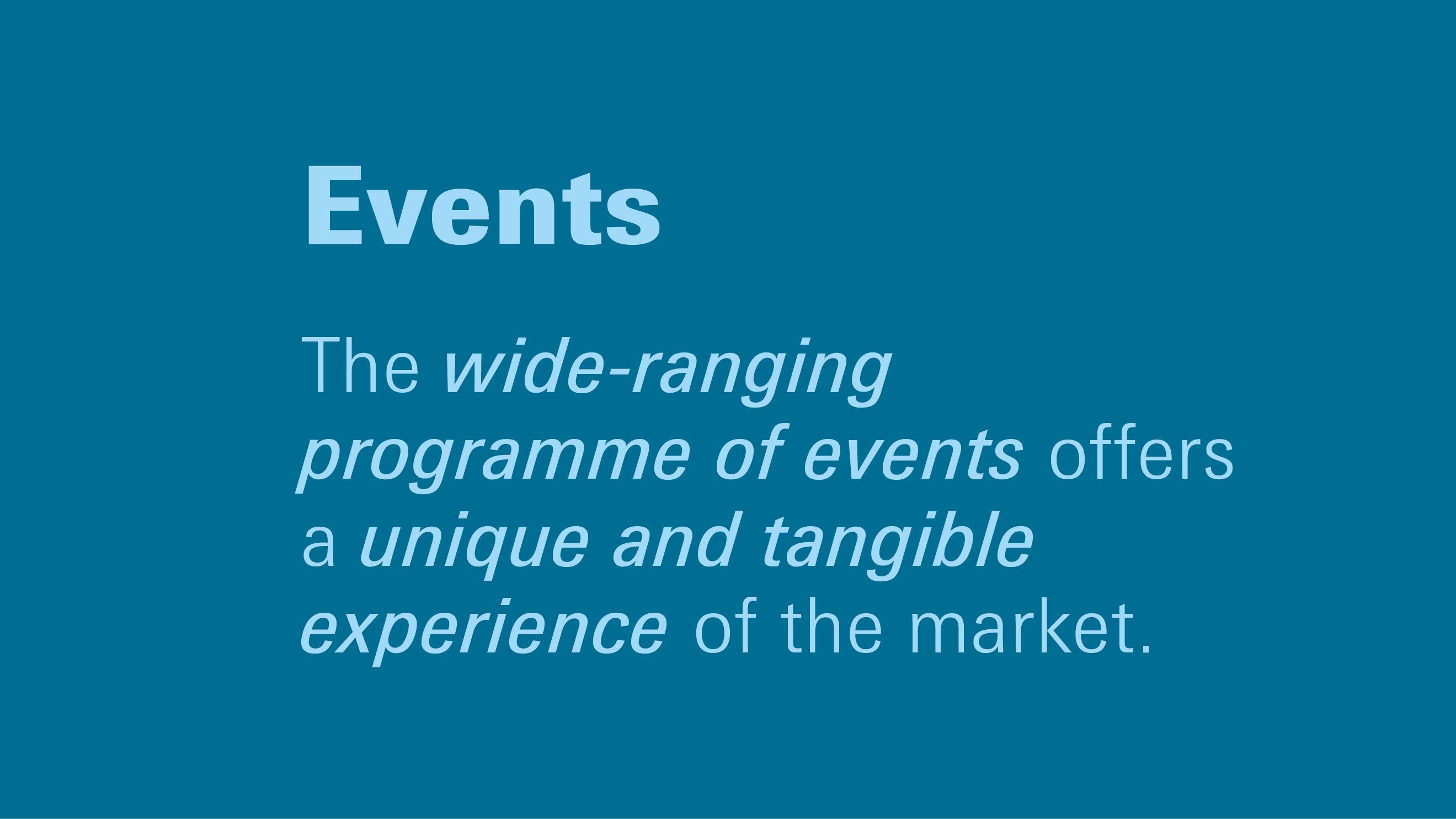 Advantages Ambiente: wide-ranging programme of events