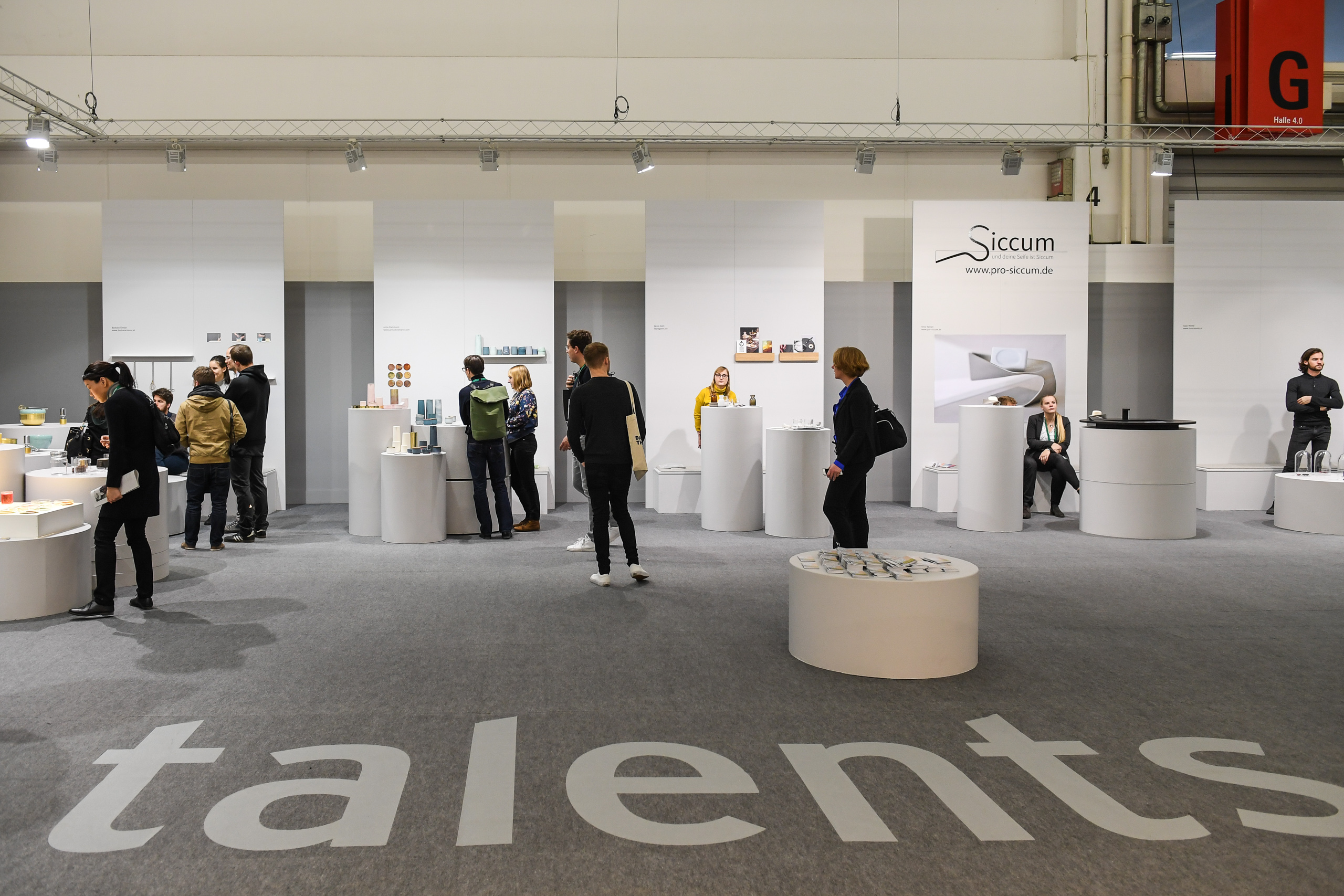 Talents area in Hall 4.0 at Ambiente