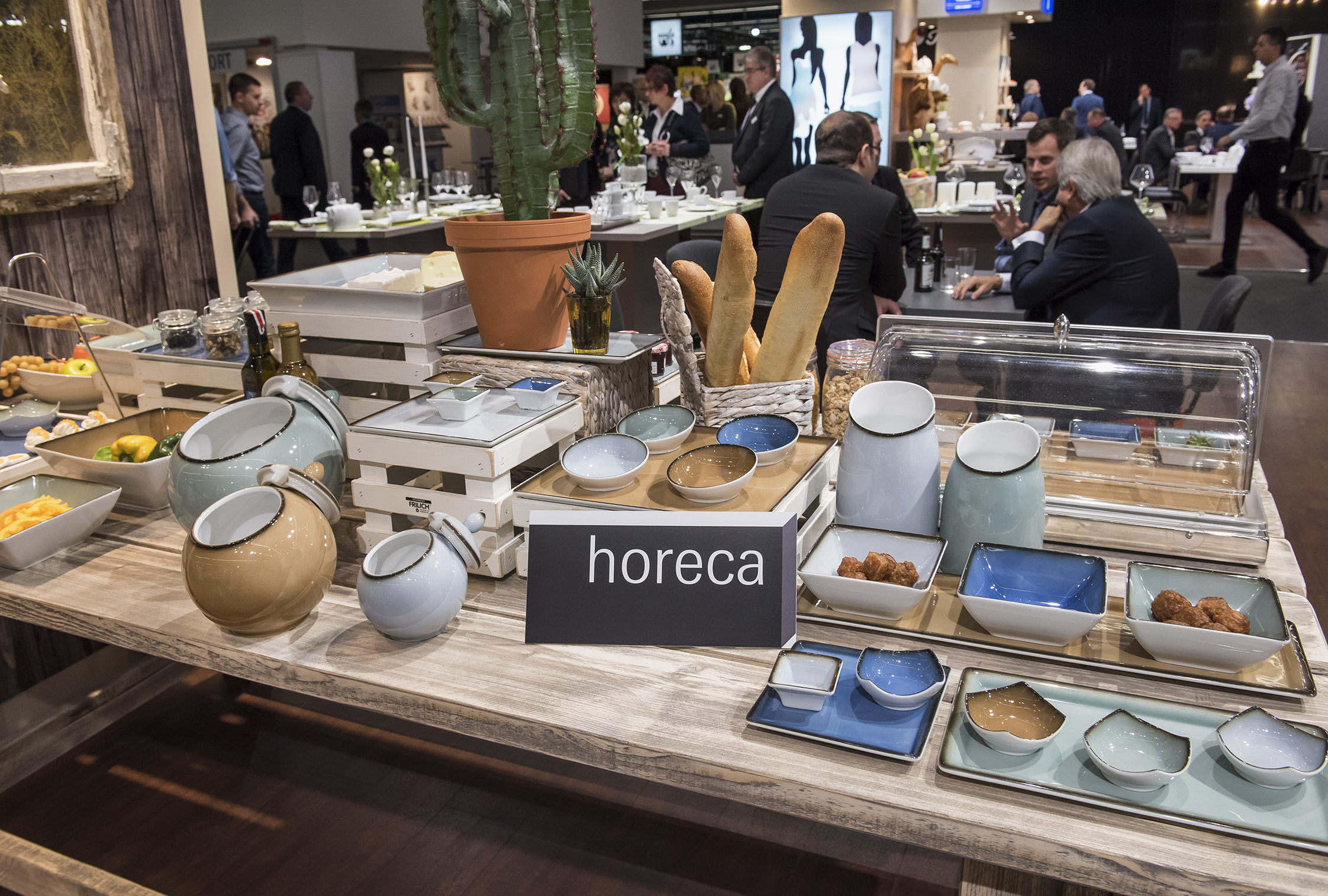 Ambiente 2018: HoReCa products at the Seltmann Weiden Hotel stand in Hall 4.2.