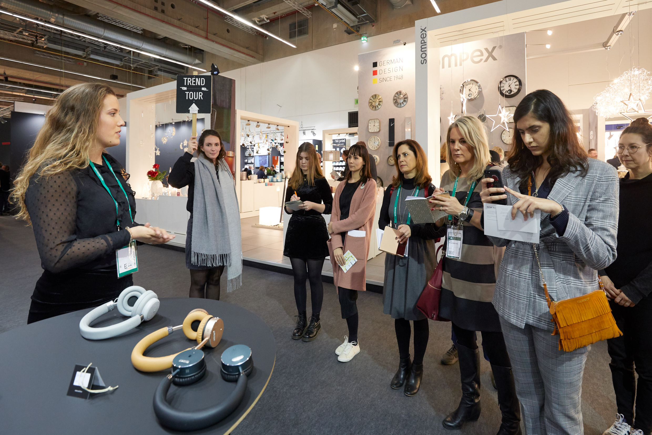 Future Thinkers presenting the latest trends at Ambiente