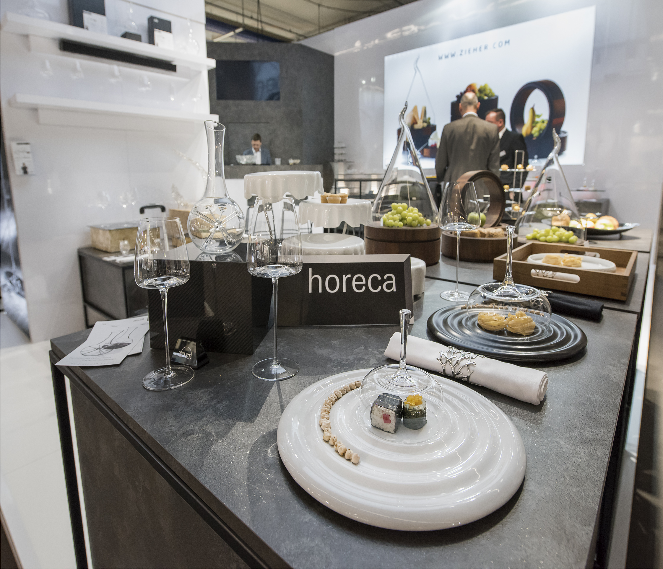 HoReCa products by Zieher at Ambiente