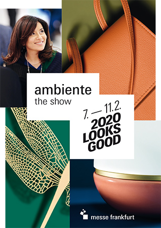 Ambiente 2020 Keyvisual Giving