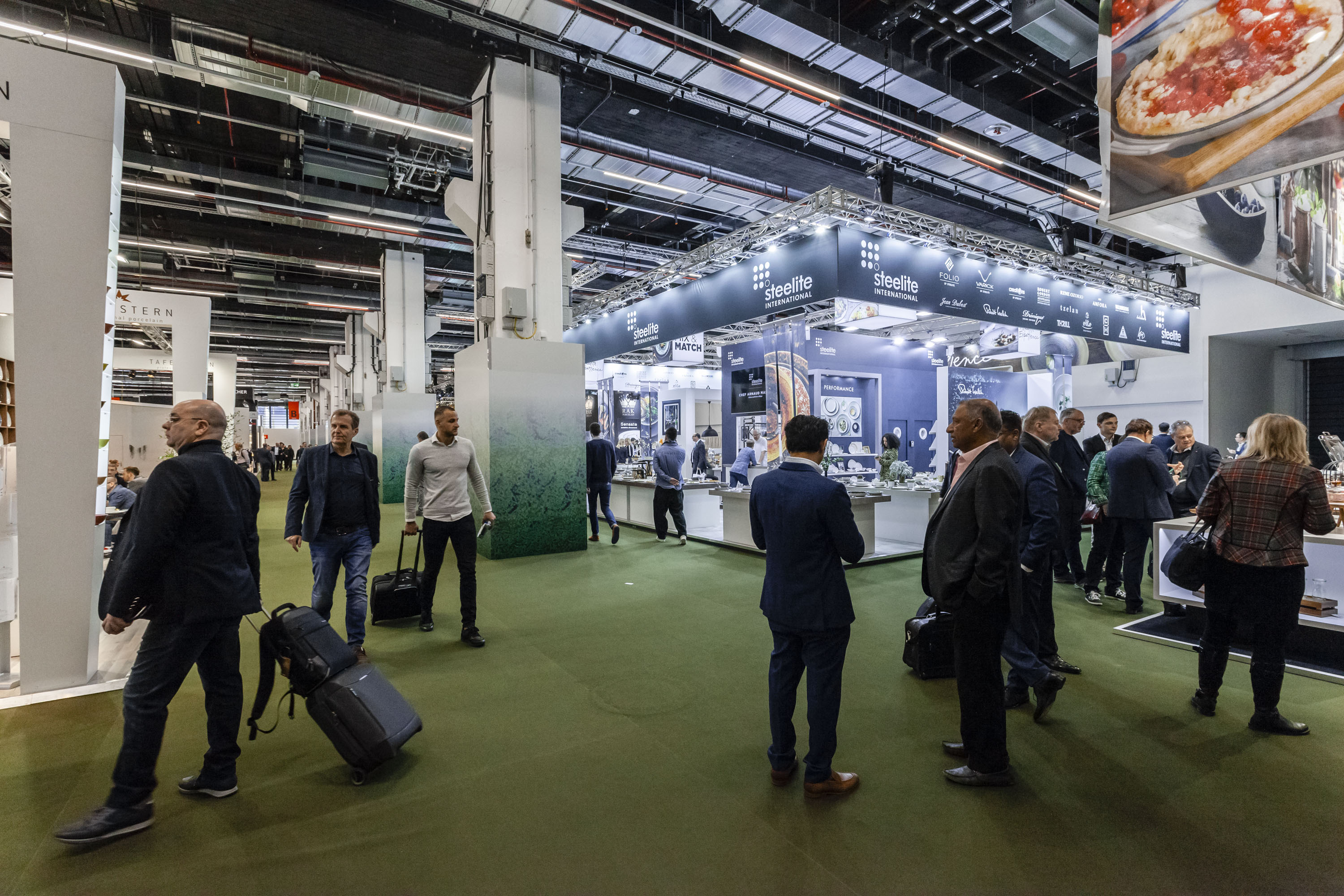 International hospitality decision-makers met 88 exhibitors from 23 countries in Hall 6.0