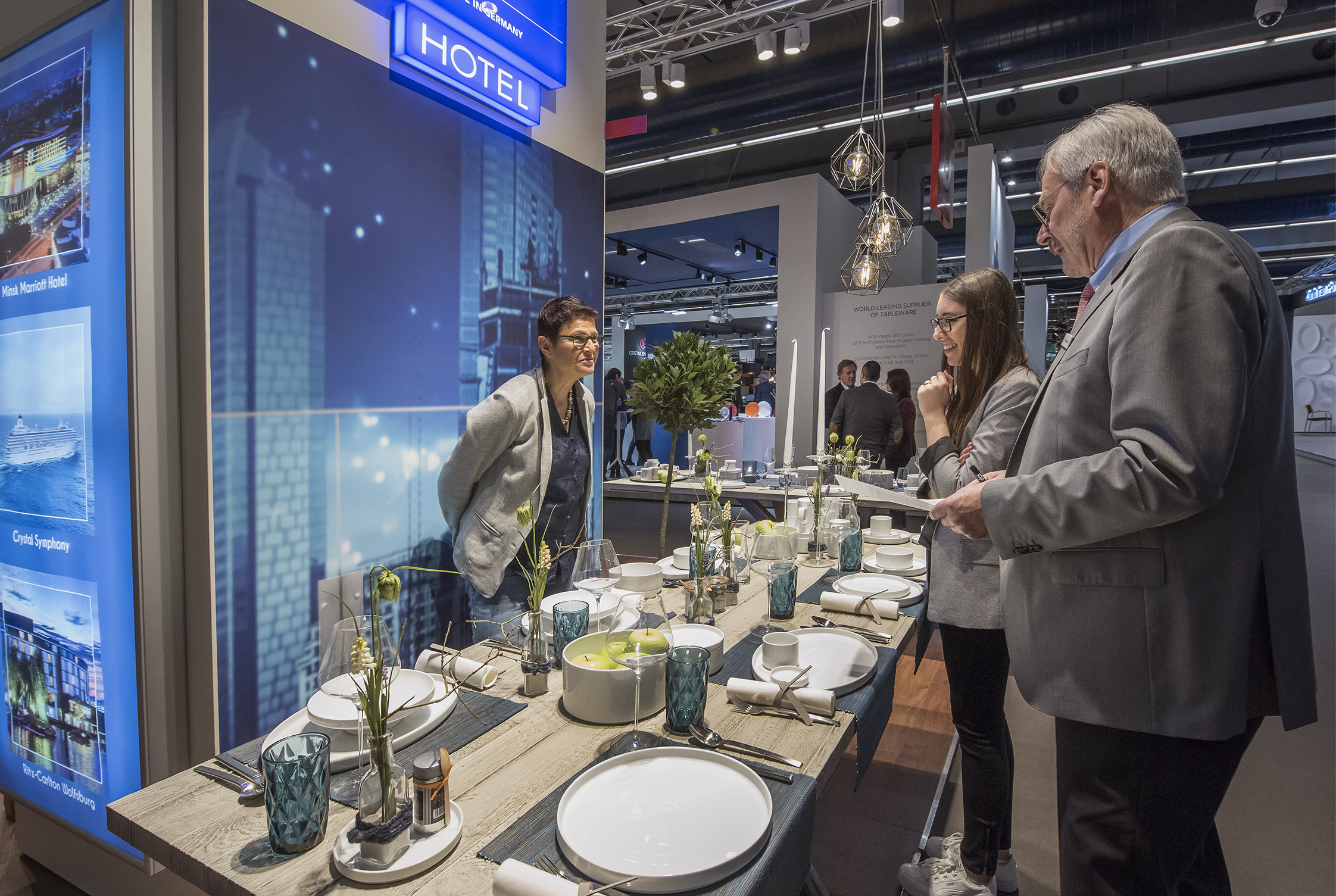 HoReCa with front of house – the growth market at Ambiente
