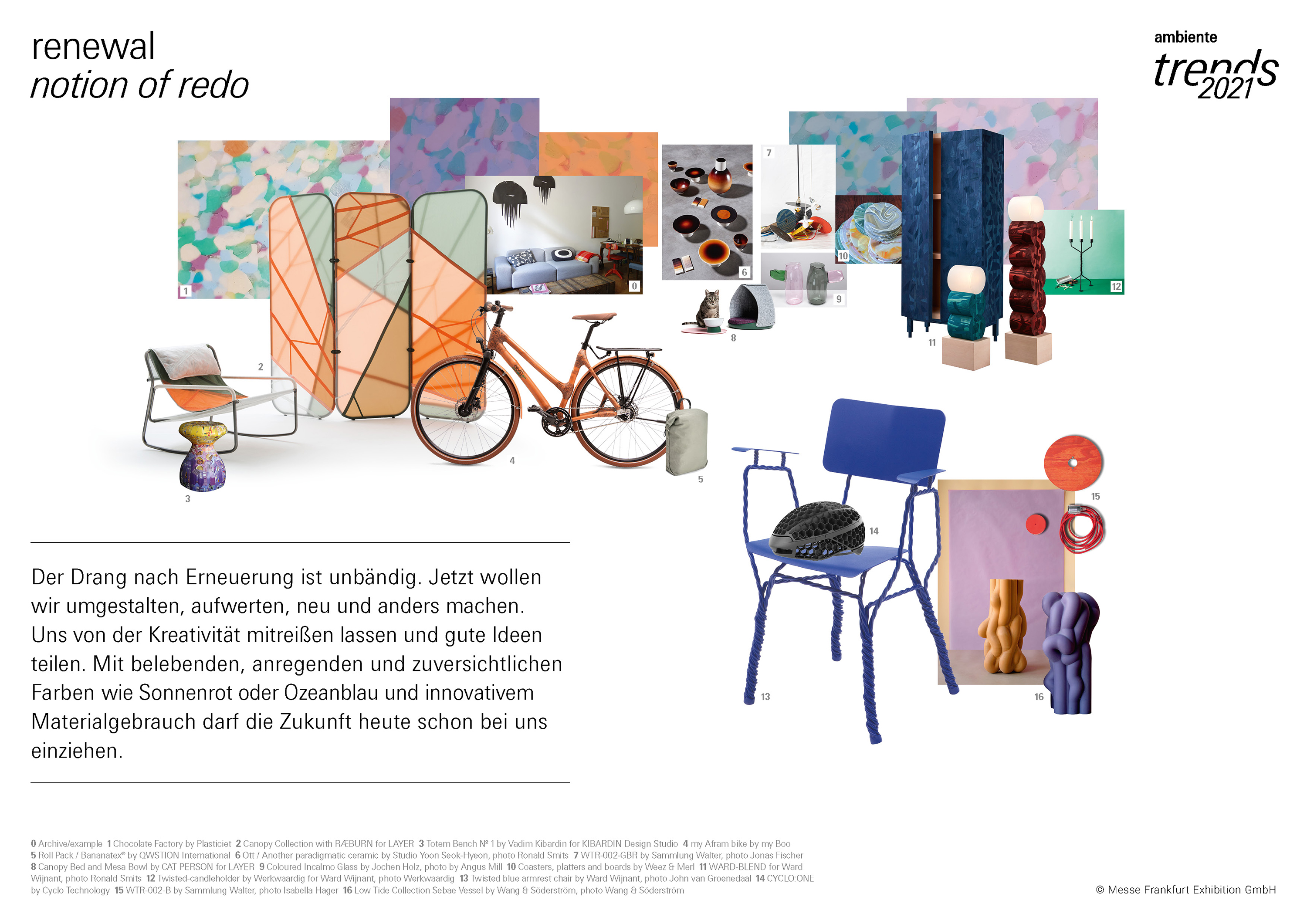 Ambiente Trends 2021 /renewal. notion of redo