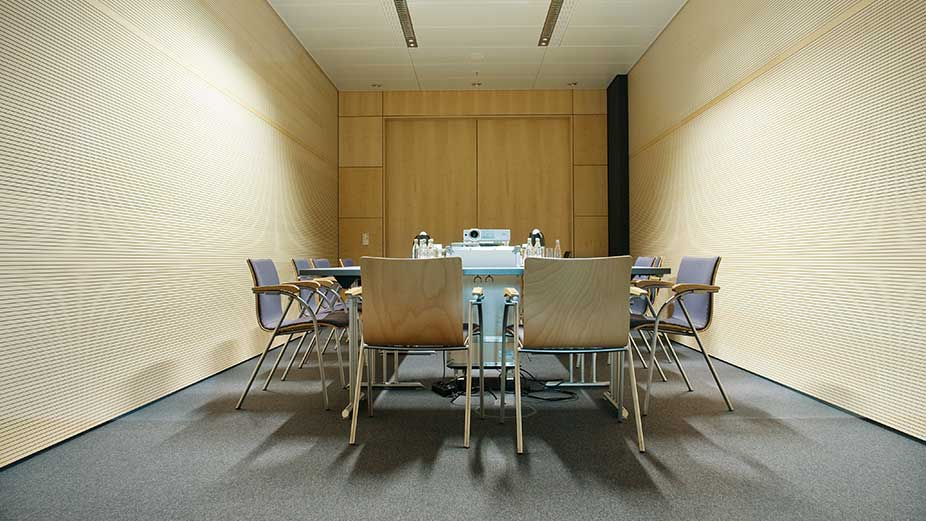 Conference, meeting and storage rooms